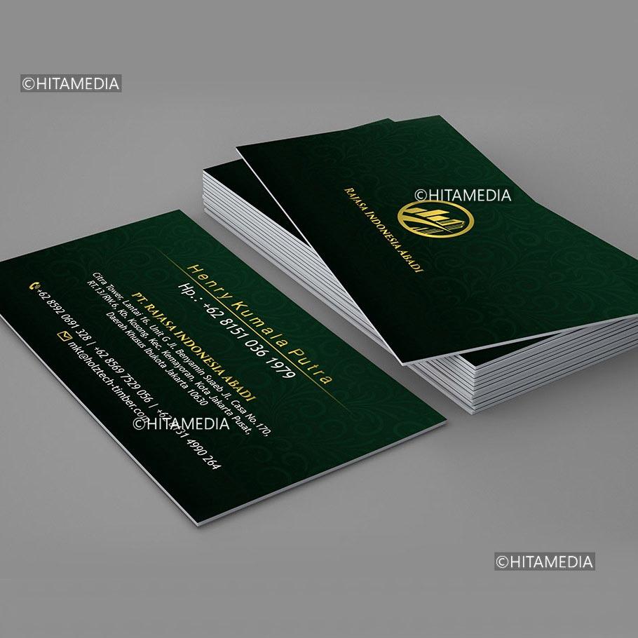 portofolio Membuat Kartu Nama Untuk